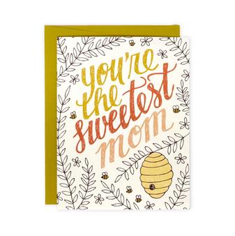 Sweetest Mom card