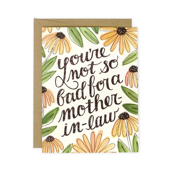 Mother in Law Mother's Day card