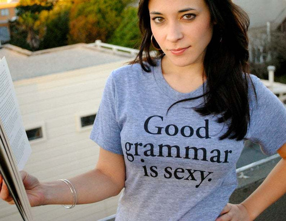 Good Grammar is Sexy Ladies' Tee