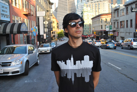 SF Skyline Tee - Black