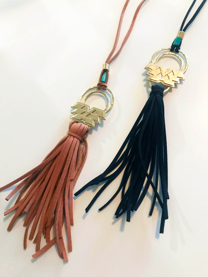 Nahuatl Cord Necklace