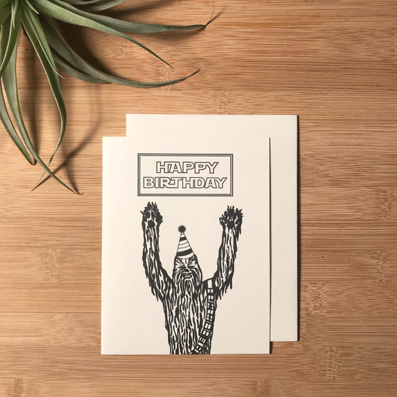 Happy Birthday Chewbacca
