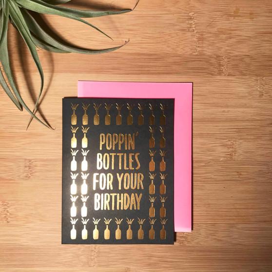 Poppin' Bottles Birthday
