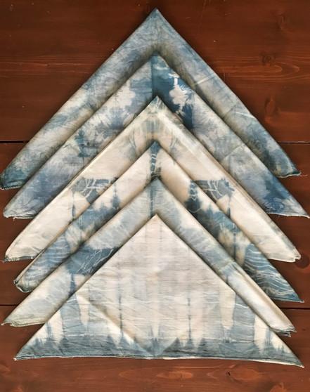 Shibori-dyed Bandana