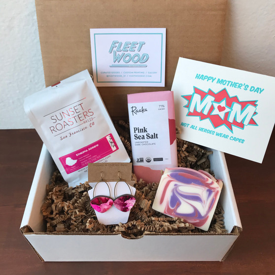 Mother's Day Gift Box // Coffee Queen