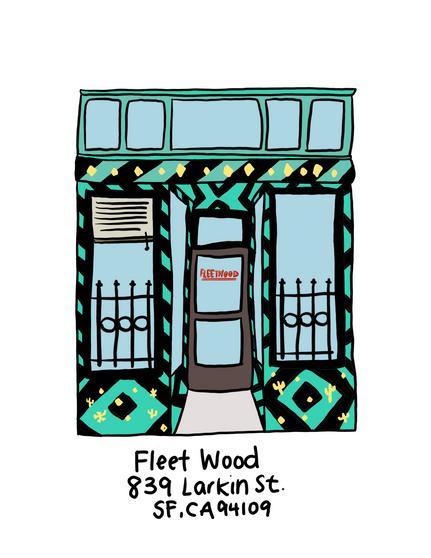 Fleet Wood Art Print