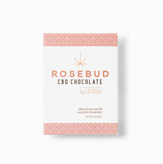 Rosebud CBD Chocolate Bar