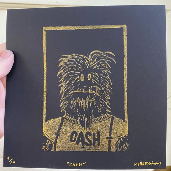 CASH - Original Block Prints