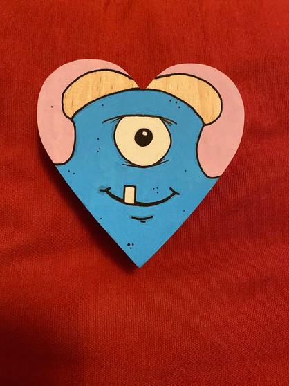 Monster Heart #1 - Original Art [SOLD]