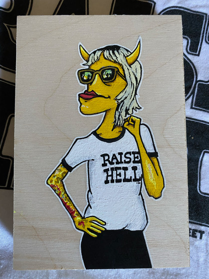 Raise Hell - Original Art