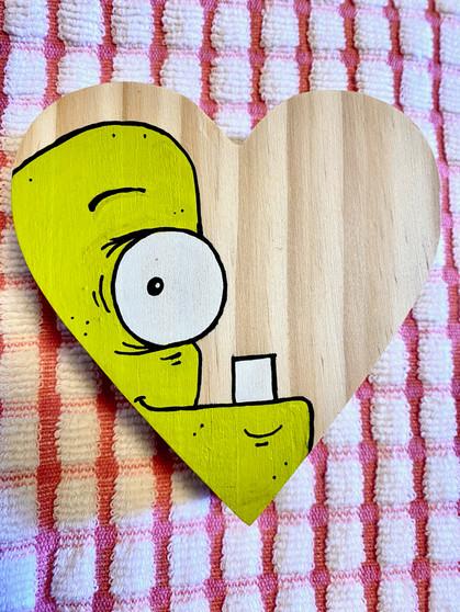 Heart Monster #5 - Original Art