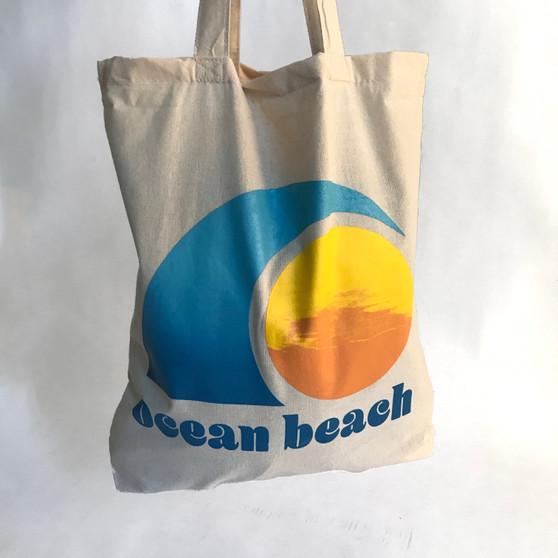 Ocean Beach Totebag