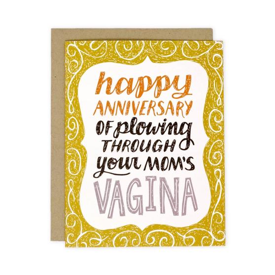 Your Mom's Vagina Birthday card