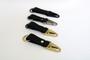 Double Loop Keychain - Black