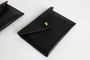 Simple Wallet: Two Pockets, Black