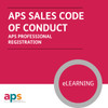 APS Professional Sales Registration - Sales Code of Conduct