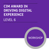CIM Digital Diploma in Professional Marketing (Level 6) - Driving Digital Experience Module - Premium/Workshops