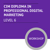 CIM Diploma in Professional Digital Marketing (Level 6) - Premium/Workshops