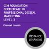 CIM Foundation Certificate in Professional Digital Marketing (Level 3) - Distance Learning/Lite - CI