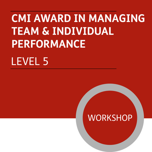 CMI Diploma in Managment and Leadership (Level 5) - Managing Team and Individual Performance Module - Premium/Workshops