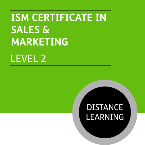 ISM Certificate in Sales and Marketing (Level 2) - Distance Learning/Lite
