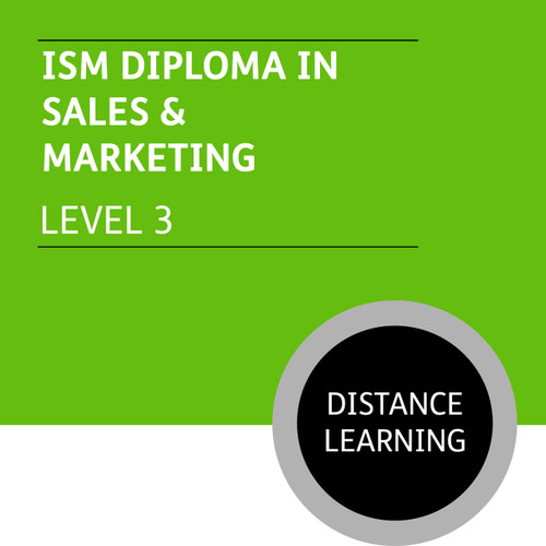 ISM Diploma in Sales and Marketing (Level 3) - Distance Learning/Lite