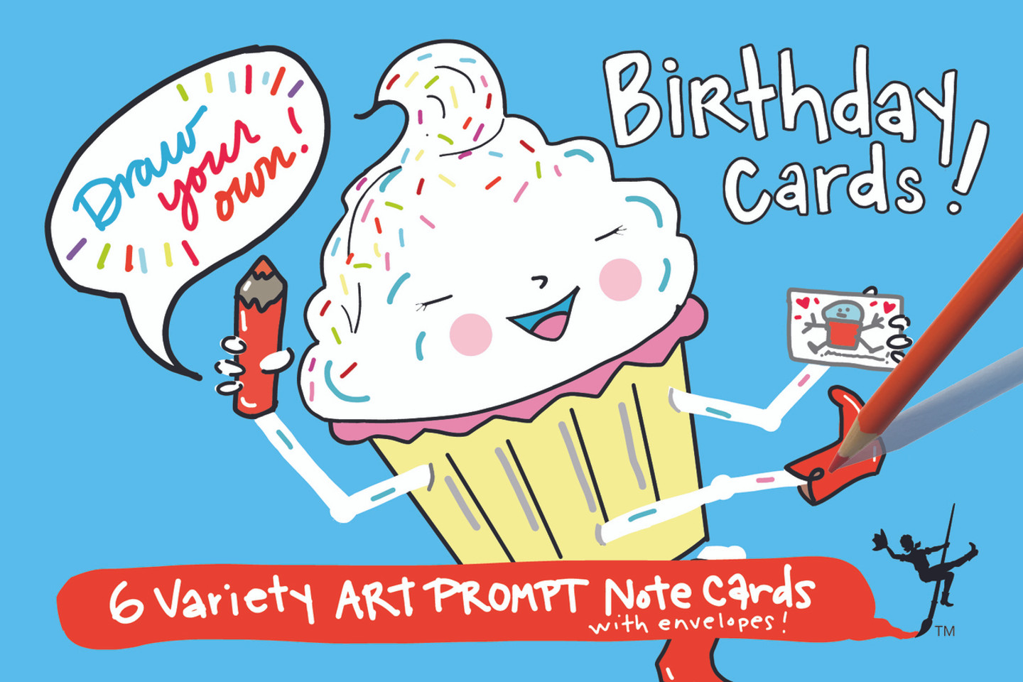 Birthday Cards | Draw Your Own (6-Variety)