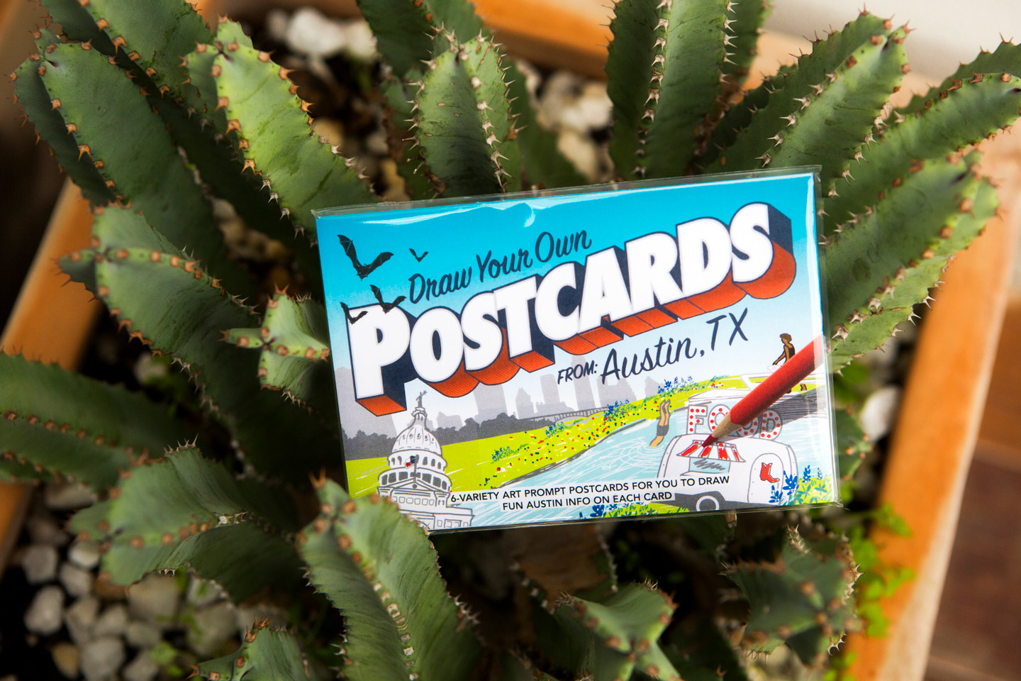 Austin POSTcards   Draw Your Own (6-Variety)