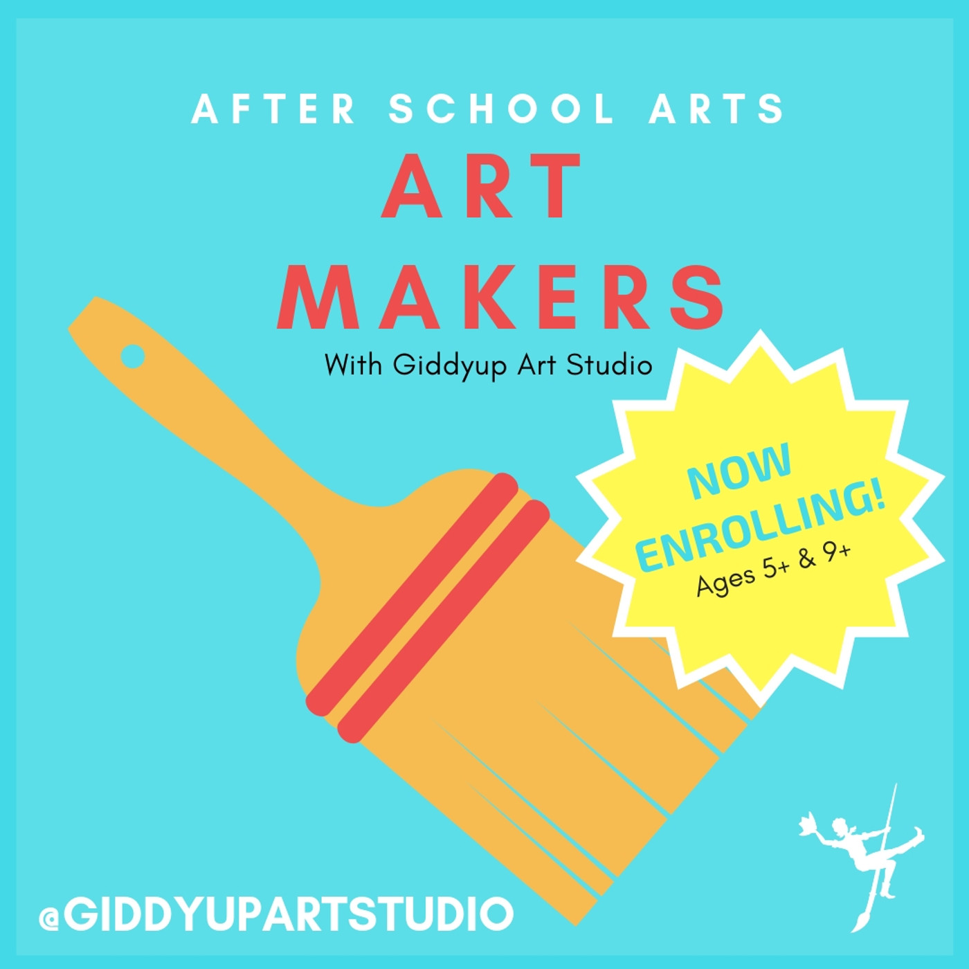 ART MAKERS (ages 5 +)