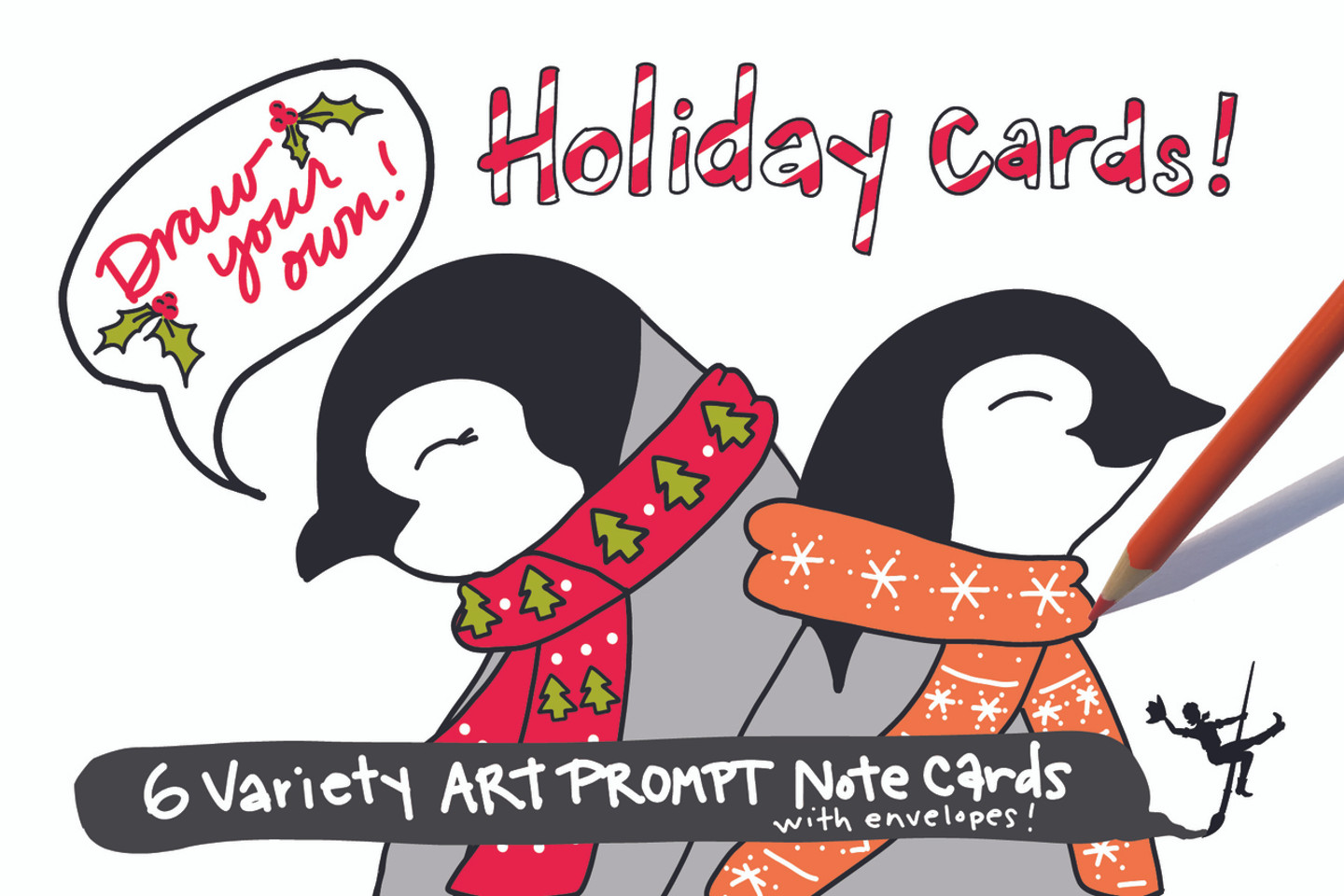 Holiday Cards | Draw Your Own (6-Variety)