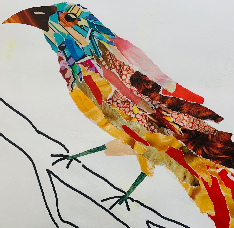 ART PLAY CLASS: Bird Collage