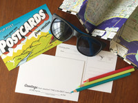 Vacation POSTcards | Draw Your Own (6-Variety)