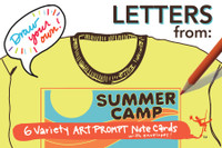 Camp Cards | Draw Your Own (6-Variety)