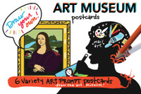 Museum POSTcards | Draw Your Own (6-Variety)