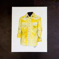"""Yellow Jacket- 9 x 12"""""""