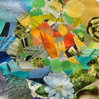 FULL CLASS  RECORDING: Monochromatic Collage (OR Poly!)