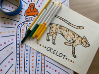 ART PLAY CLASS: Printmaking with Erasers