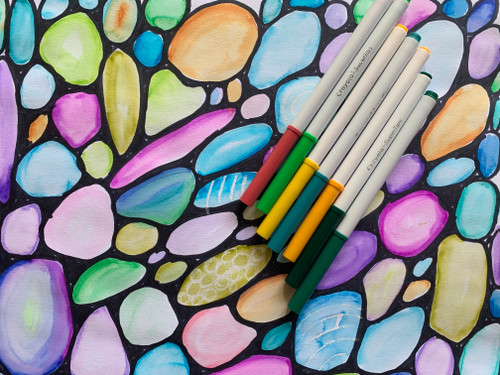 ART PLAY TUTORIAL: Marker as Watercolor!