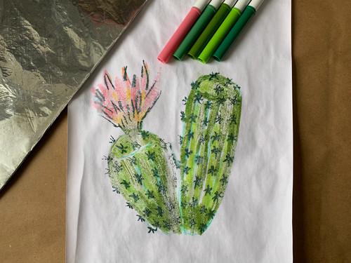 ART PLAY TUTORIAL: Marker Monoprints