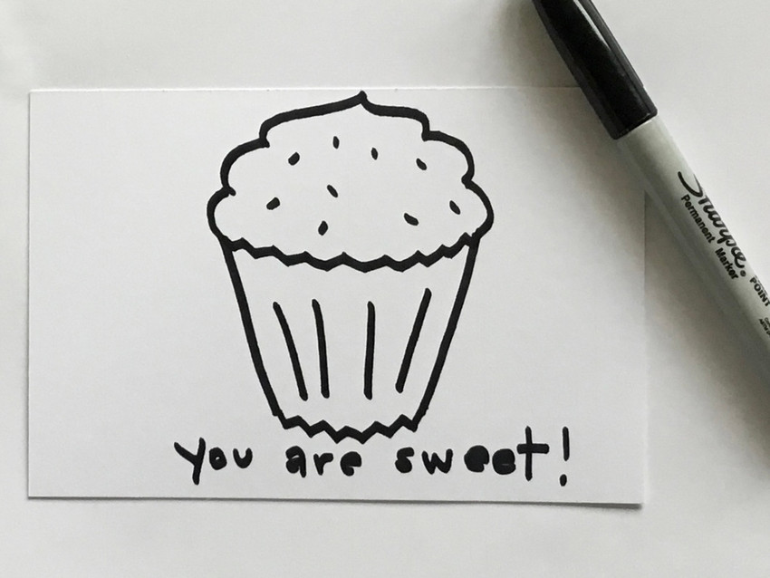 How To Draw A Cupcake (Yum!)
