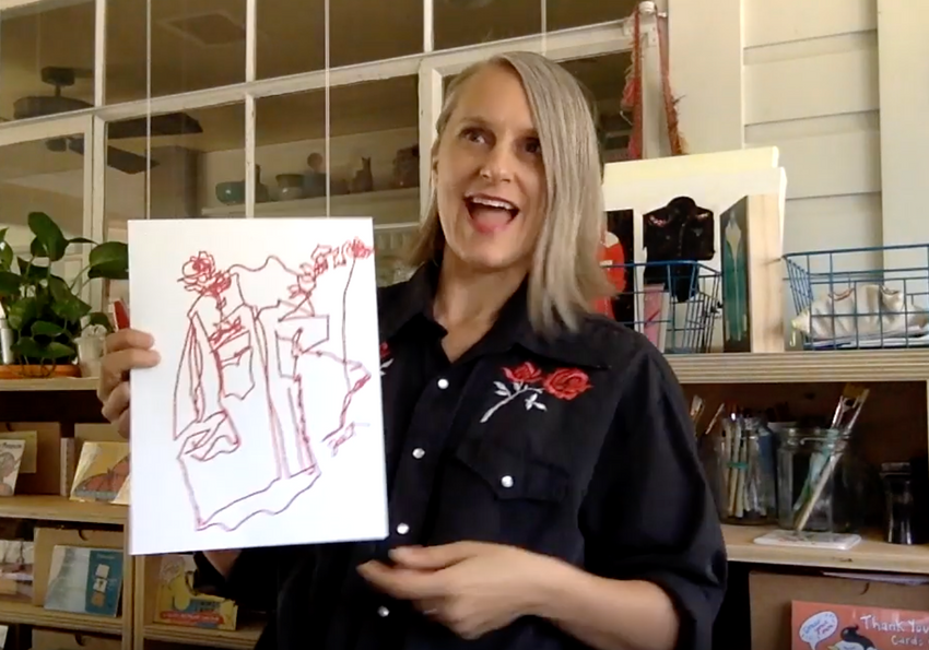 How to: Blind Contour!