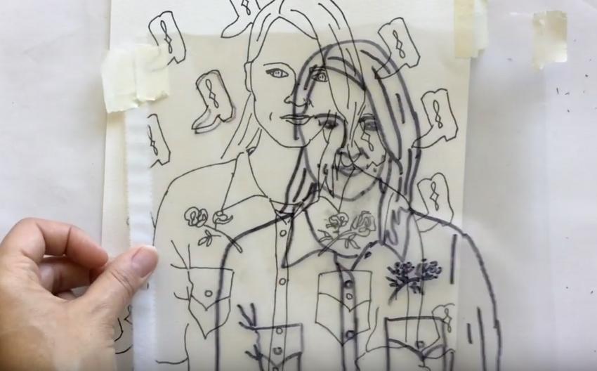 Part 1: How to: Create a Contour Self- Portrait