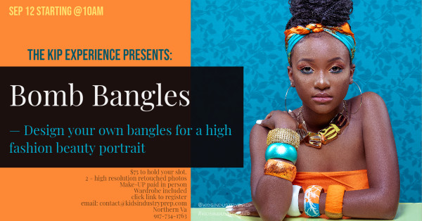 """KIP Experience - Bangin Bangles/ Click """"Deposit"""" to hold your slot"""