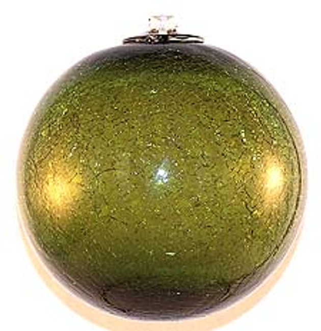 Olive Crackle (6 Inch)