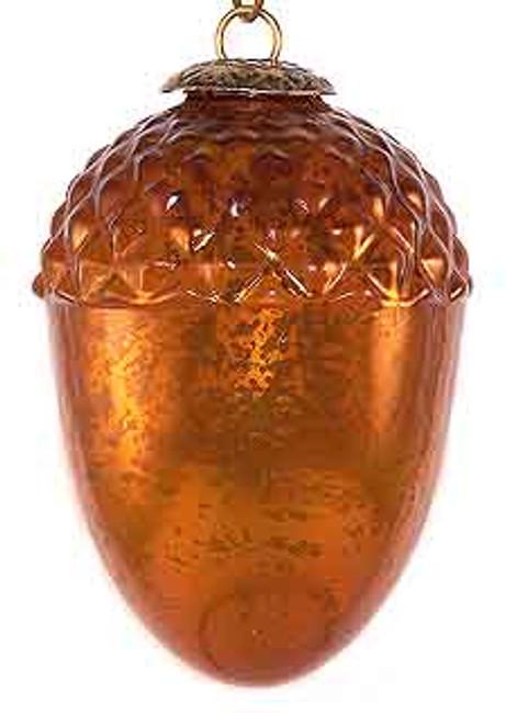 Brass Cap Copper Acorn