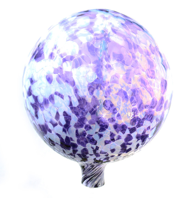 Hyacinth / Moon Glow Gazing Ball