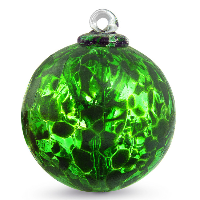 "Small Witch Ball ""Ivy"""