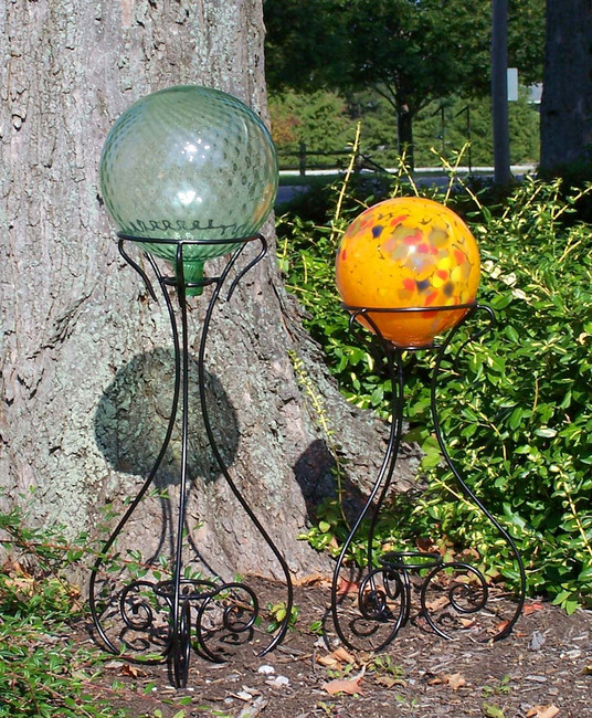 Gazing Ball Stands