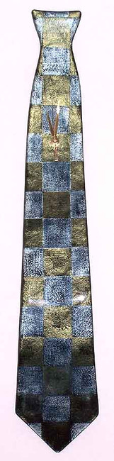Glass Clock Necktie