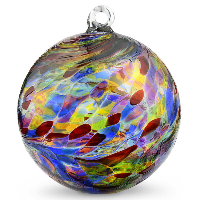 Multicolored Ornament 6""